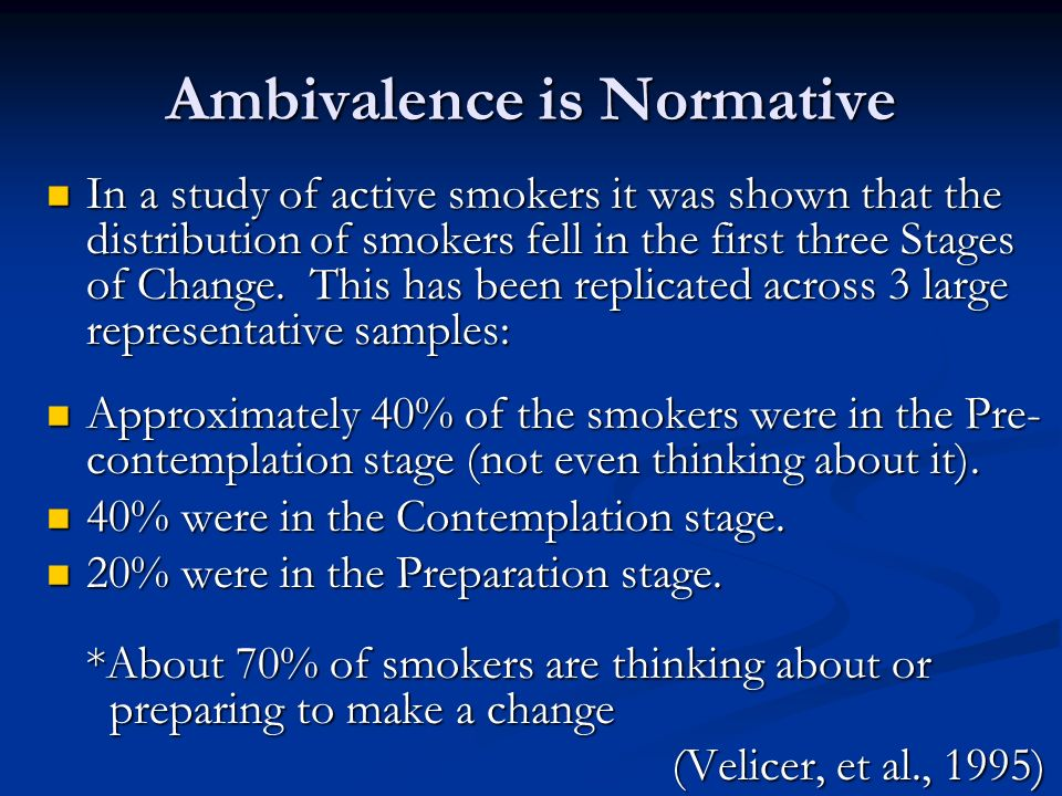 Ambivalence is Normative