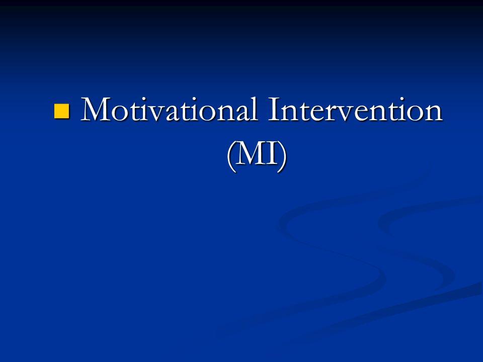Motivational Intervention (MI)