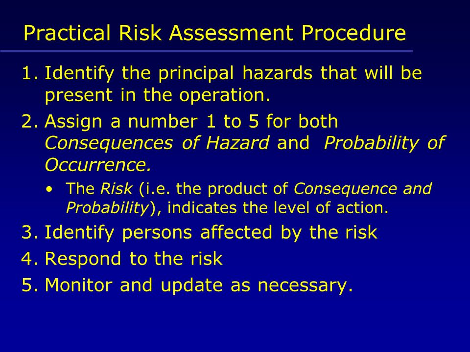 identify the consequences of not managing a risk Such identification is not intended to imply recommendation or  risk is the net  negative impact of the exercise of a vulnerability, considering both the.