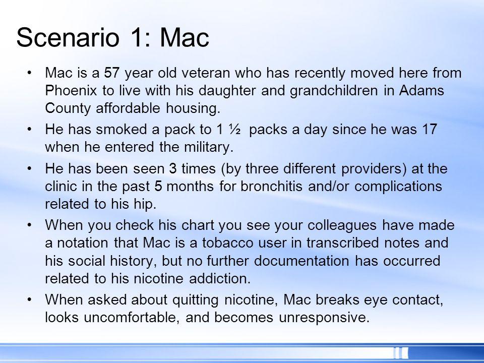Scenario 1: Mac