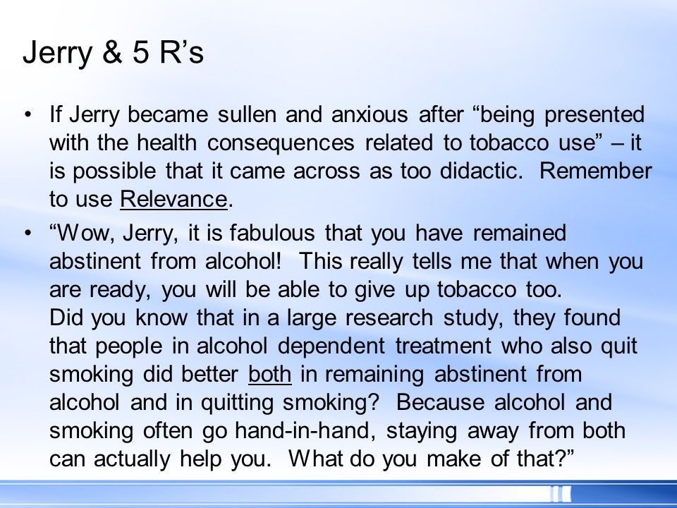 Jerry & 5 R's