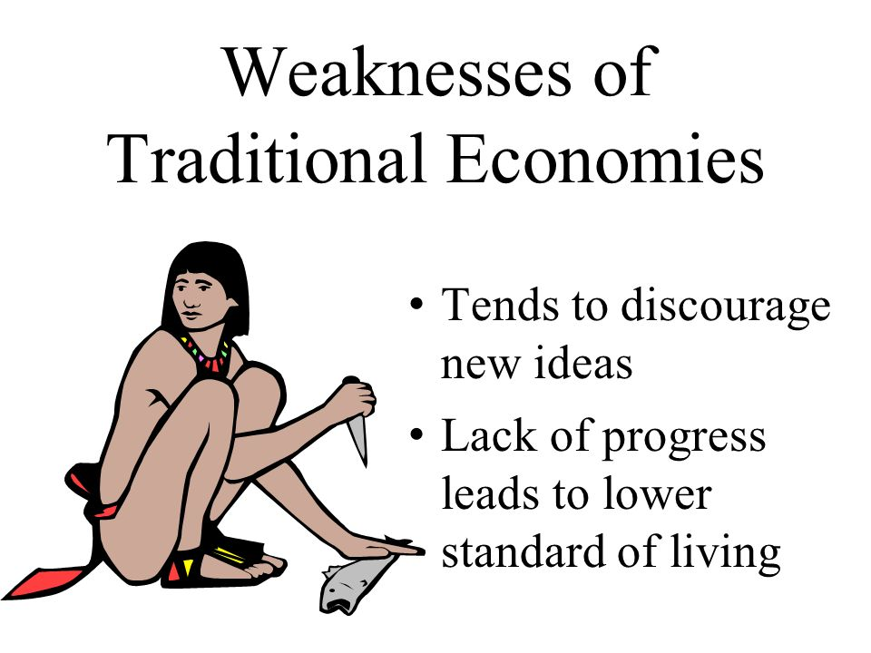 strengths and weaknesses of the command economics system Economic growth and expansion (which is possible in the capitalist economy system) - this increases the gross national product and leads to improved living standards the disadvantages of.