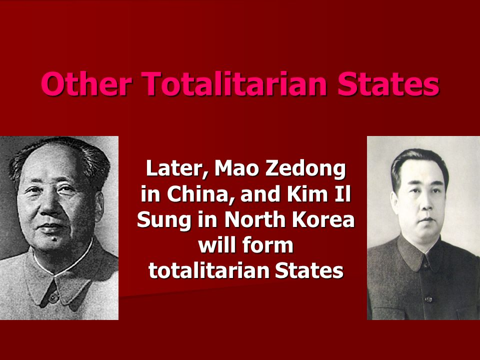 totalitarian government north korea North korea remains one of the most repressive authoritarian states in the world, ruled for seven decades by the kim family and the worker's party of korea  the north korean government has.