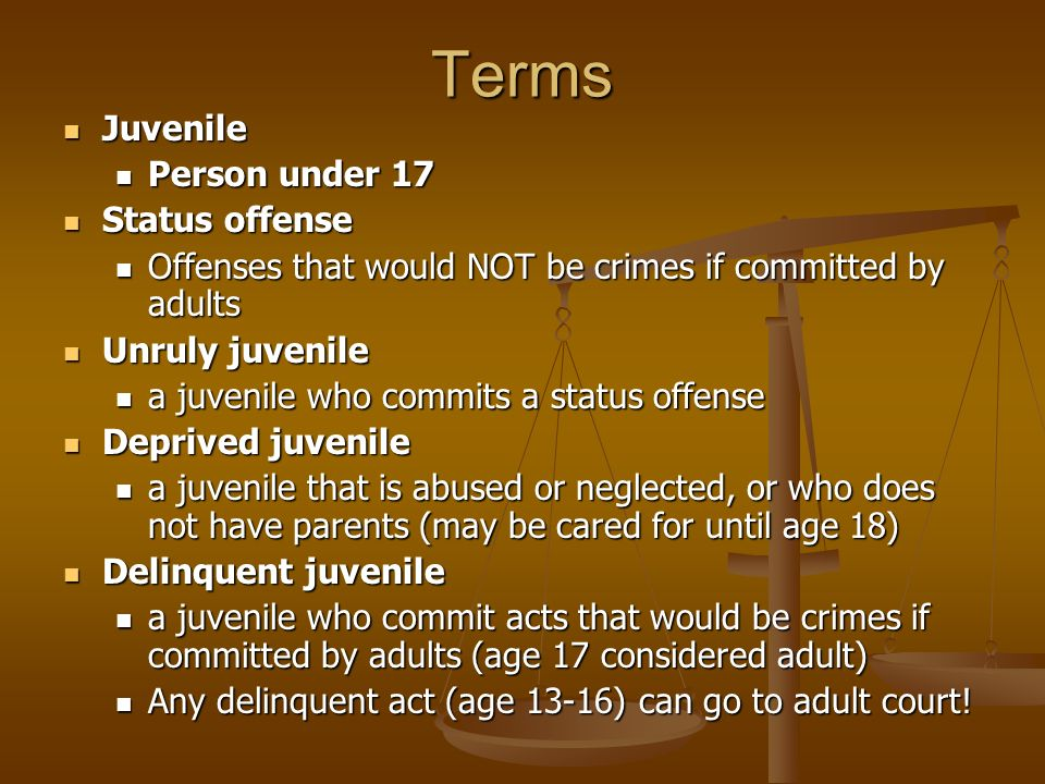 abolish the juvenile courts Journal of criminal law and criminology volume 88 issue 1fall article 3 fall 1997 abolish the juvenile court: youthfulness, criminal responsibility.