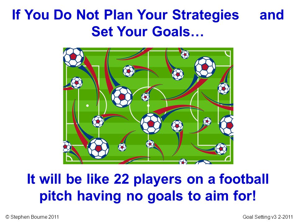 If You Do Not Plan Your Strategies and Set Your Goals…