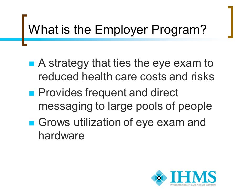 What is the Employer Program