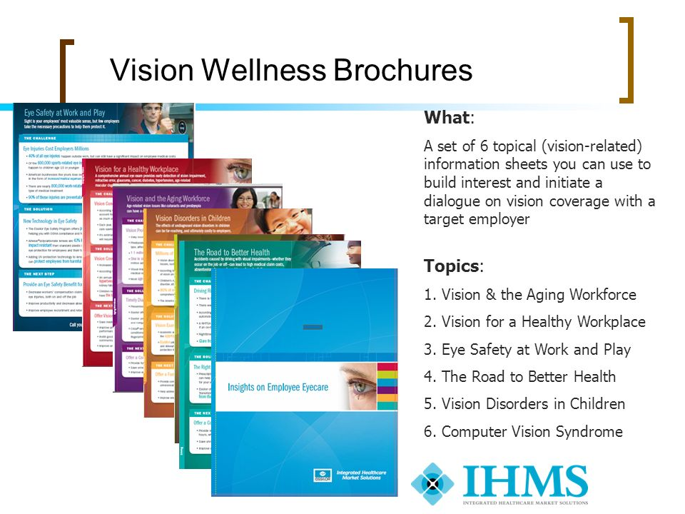 Vision Wellness Brochures