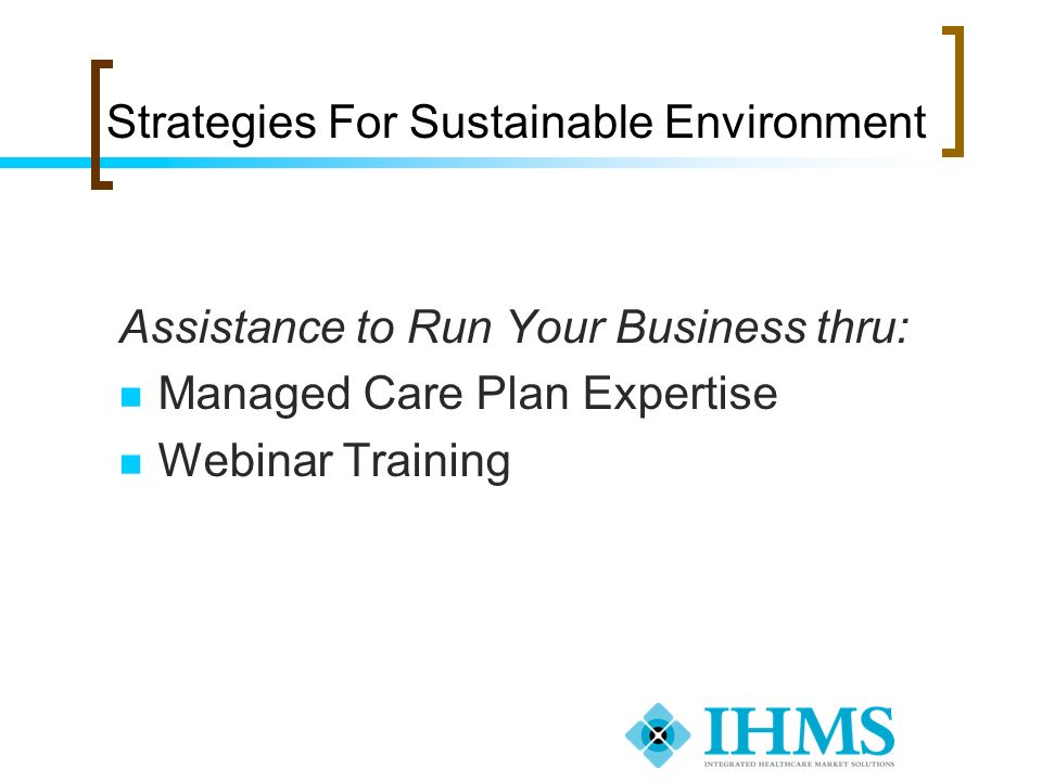 Strategies For Sustainable Environment
