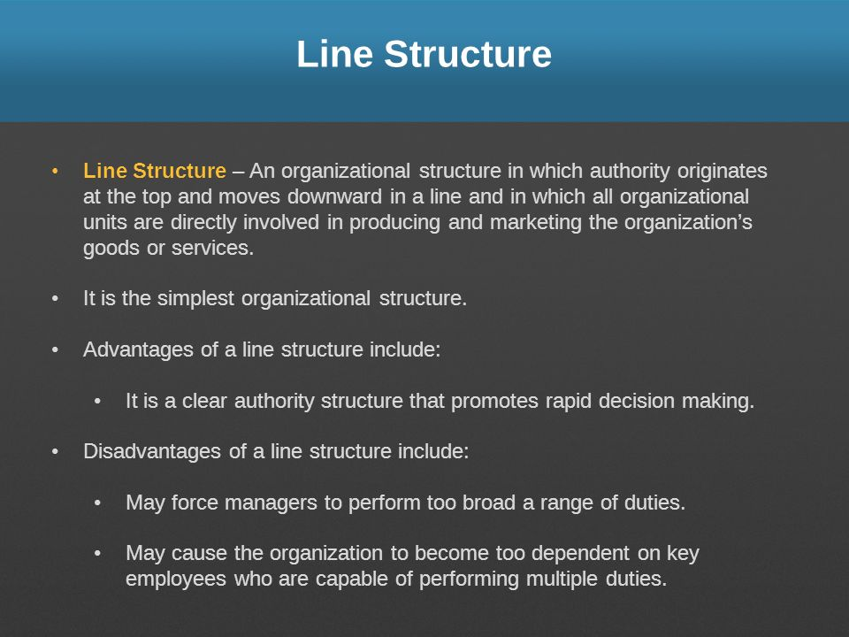 Line Structure