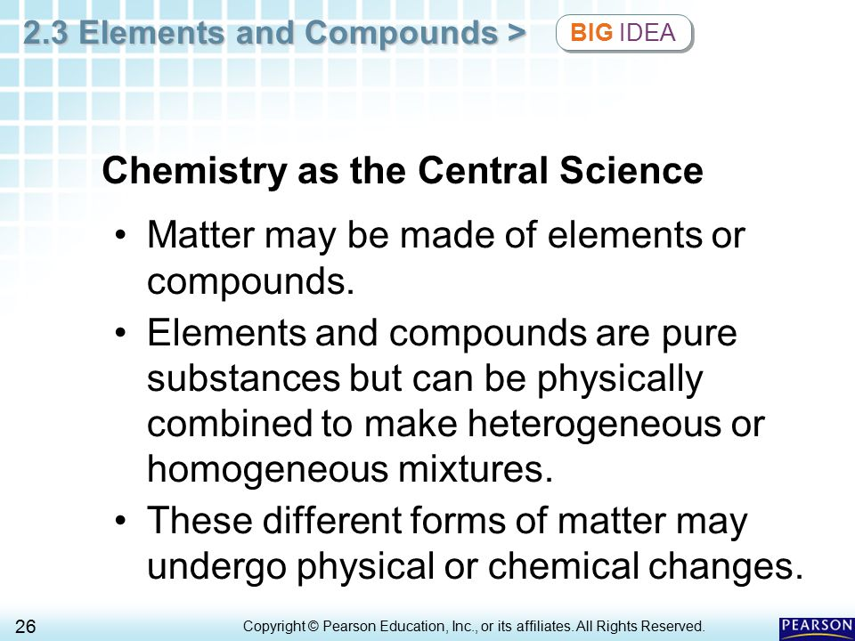 Chemistry as the Central Science