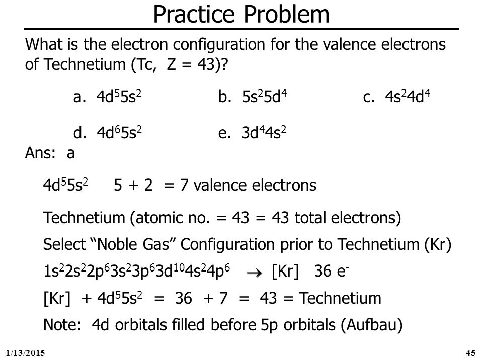 how to find valence electrons electron configuration