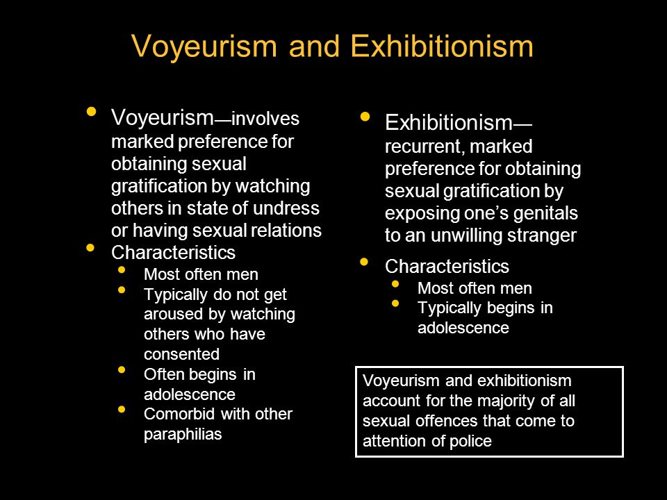 and voyeurism psychology