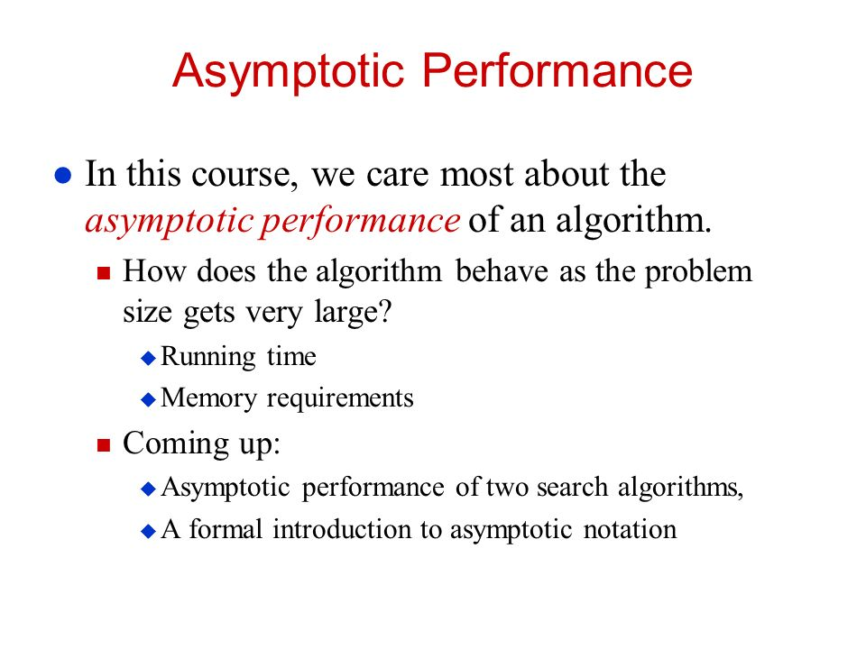 asymptotic notation in algorithm analysis pdf