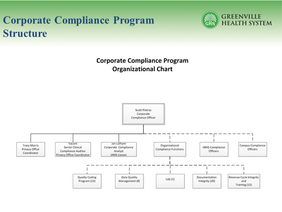 Corporate compliance program the office of corporate integrity ppt video online download - Corporate compliance officer ...