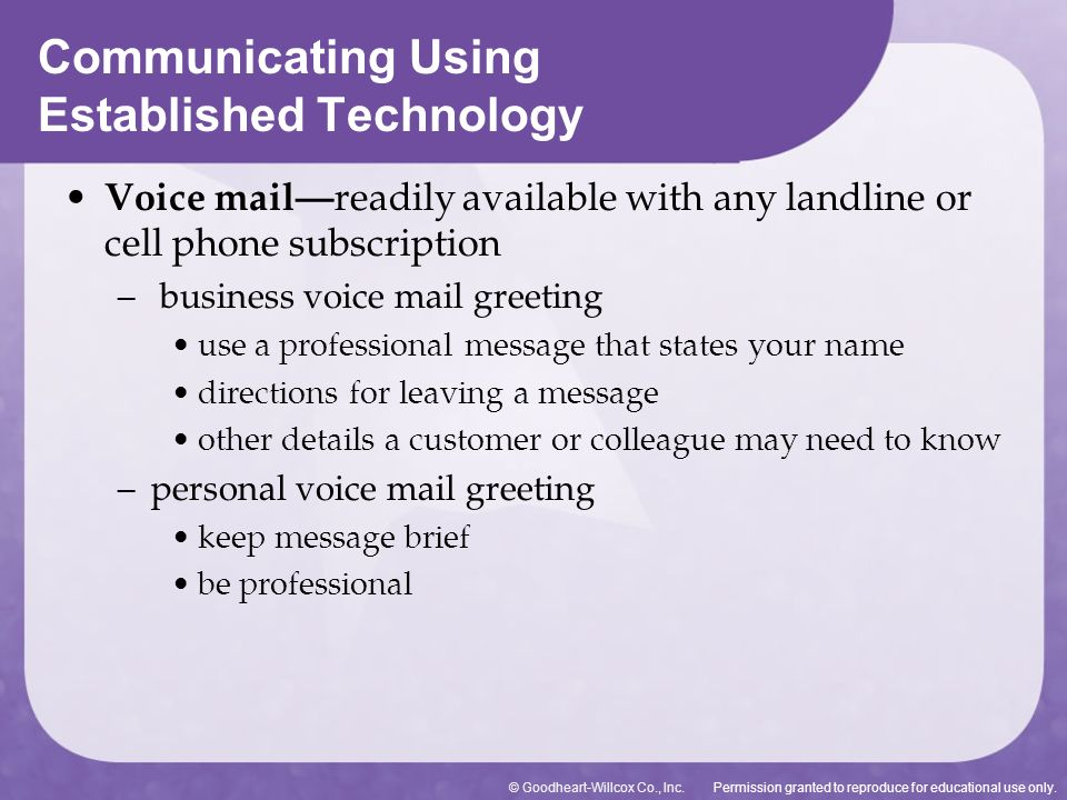 Using technology to communicate ppt download 31 communicating using established technology m4hsunfo