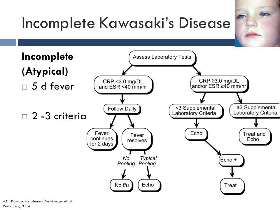 Aap Incomplete Kawasaki