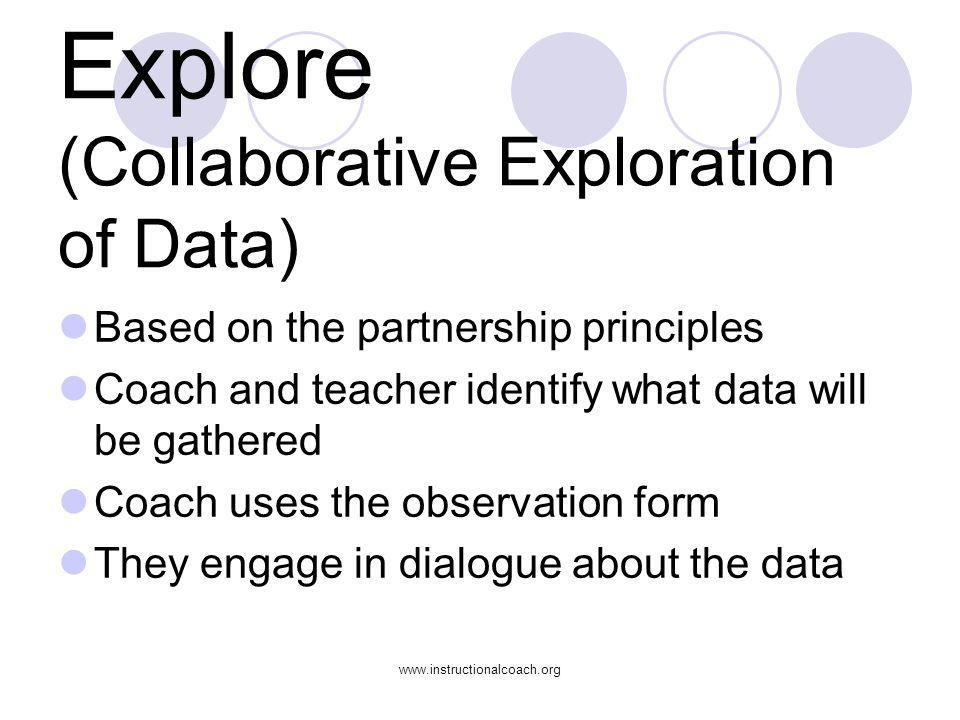 Explore (Collaborative Exploration of Data)