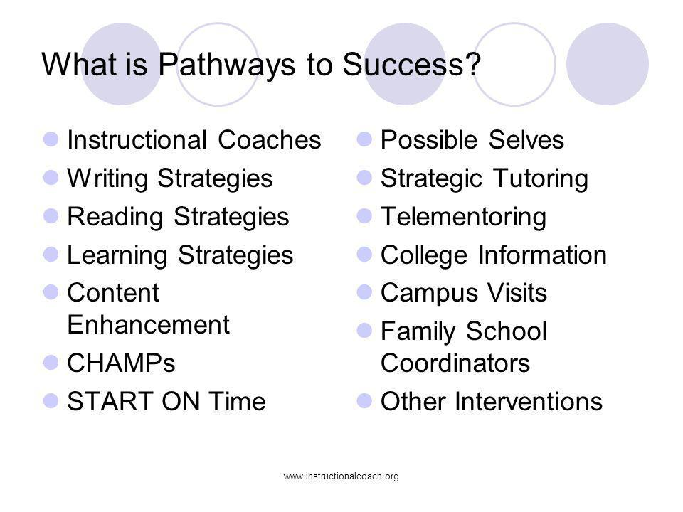 What is Pathways to Success