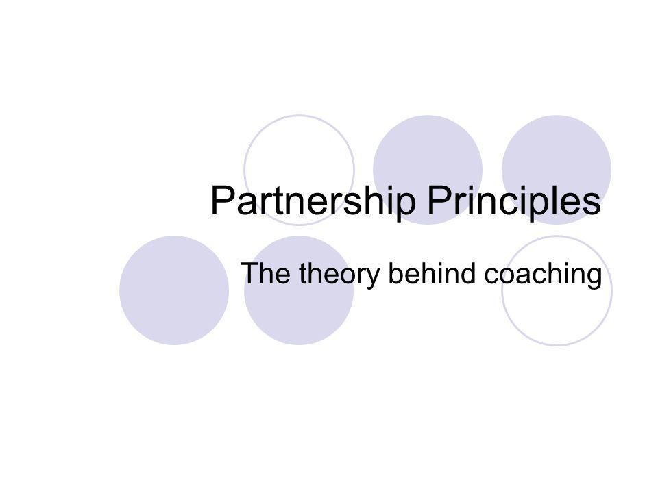 Partnership Principles
