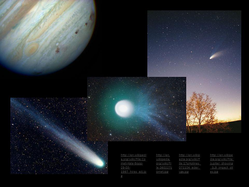 http://en.wikipedia.org/wiki/File:Comet-Hale-Bopp-29-03-1997_hires_adj.jpg http://en.wikipedia.org/wiki/File:060227comet.jpg.