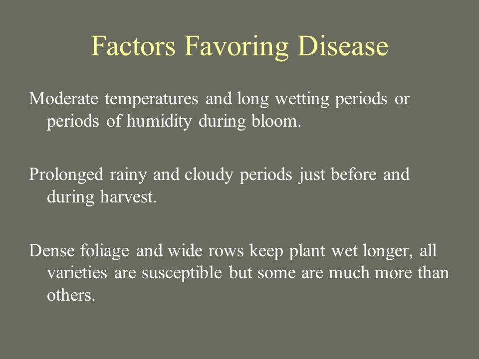 Factors Favoring Disease