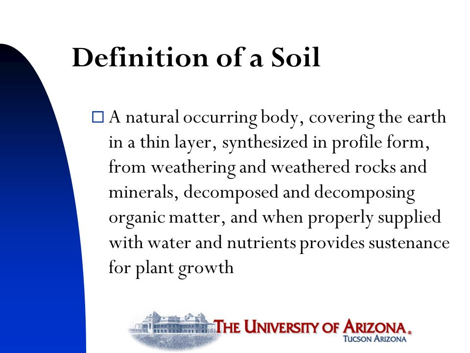 Trends in world food supply ppt download for Mineral soil definition
