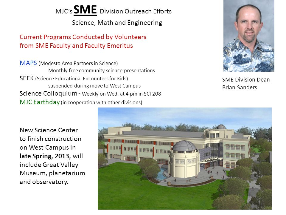 MJC's SME Division Outreach Efforts