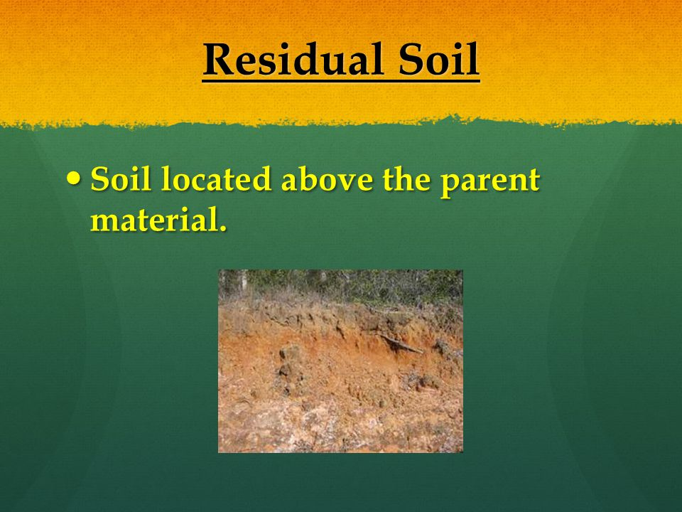Soil is an important natural resource to life on earth ...