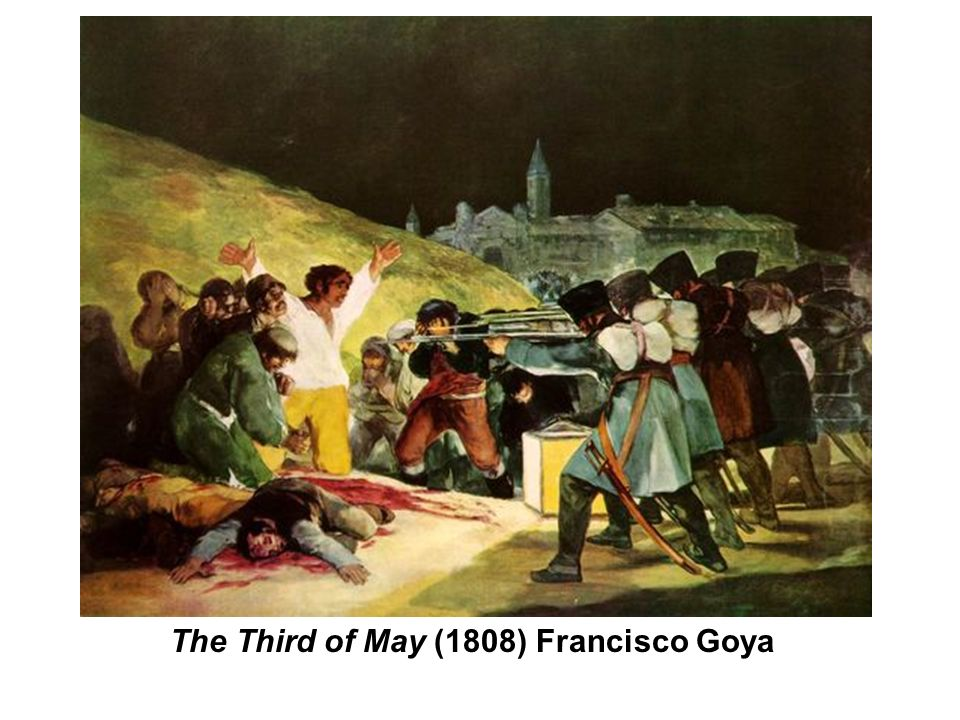 The Third of May (1808) Francisco Goya