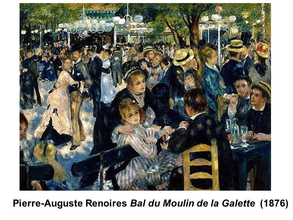 Pierre-Auguste Renoires Bal du Moulin de la Galette (1876)