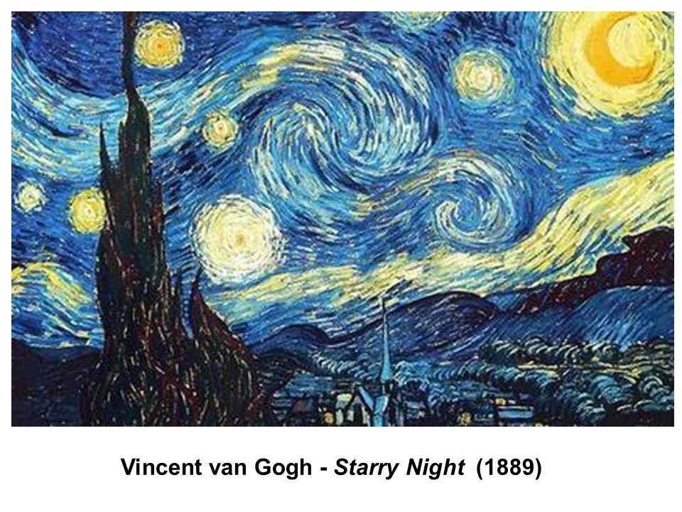 Vincent van Gogh - Starry Night (1889)
