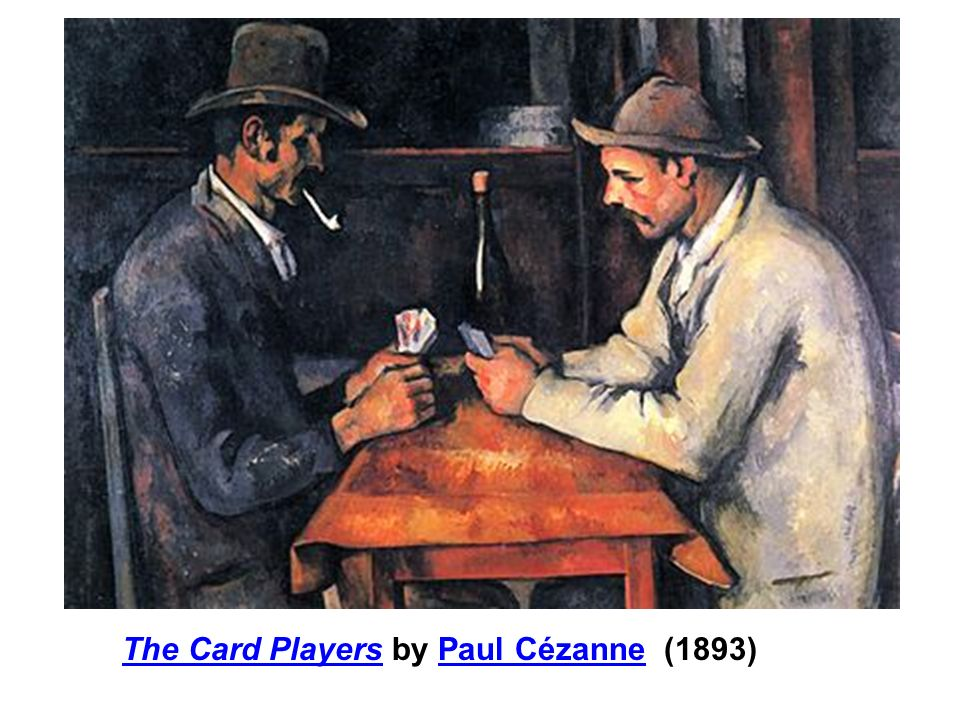 The Card Players by Paul Cézanne (1893)
