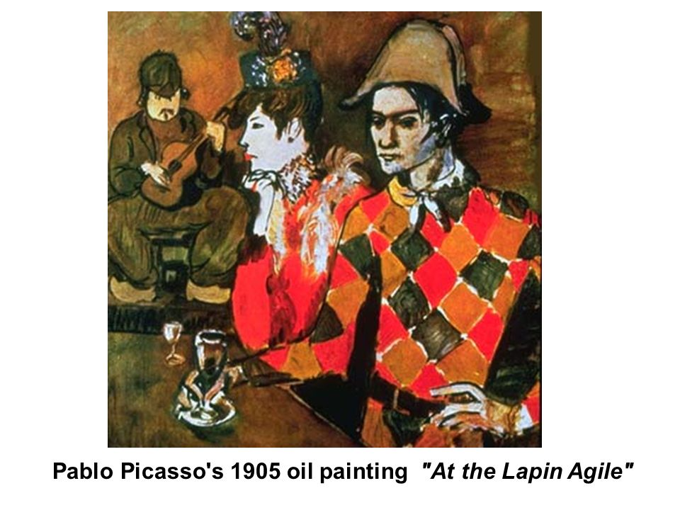 Pablo Picasso s 1905 oil painting At the Lapin Agile