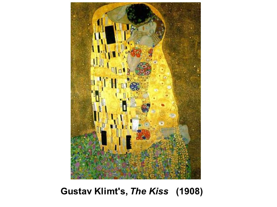 Gustav Klimt s, The Kiss (1908)