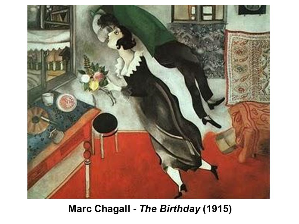 Marc Chagall - The Birthday (1915)