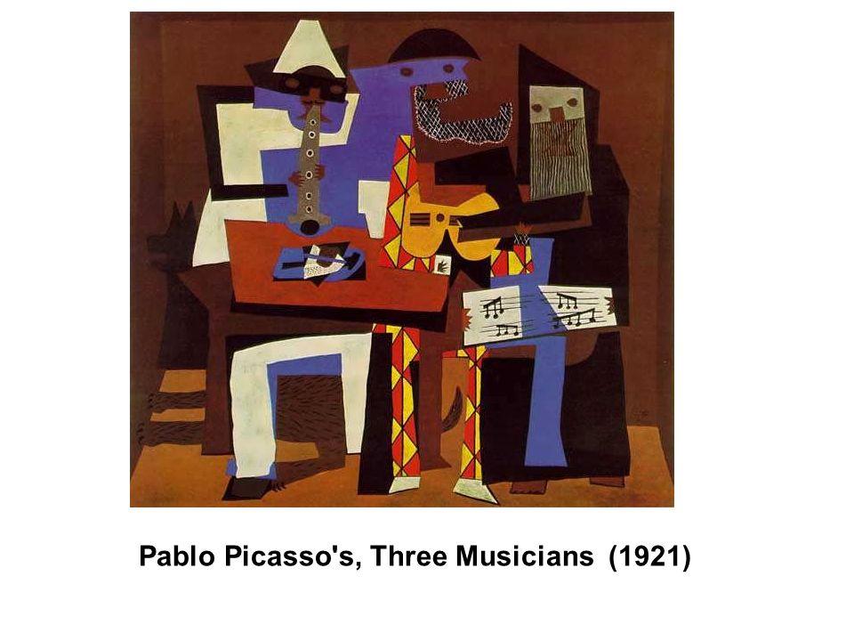 Pablo Picasso s, Three Musicians (1921)