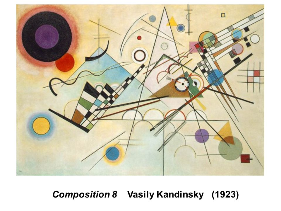 Composition 8 Vasily Kandinsky (1923)