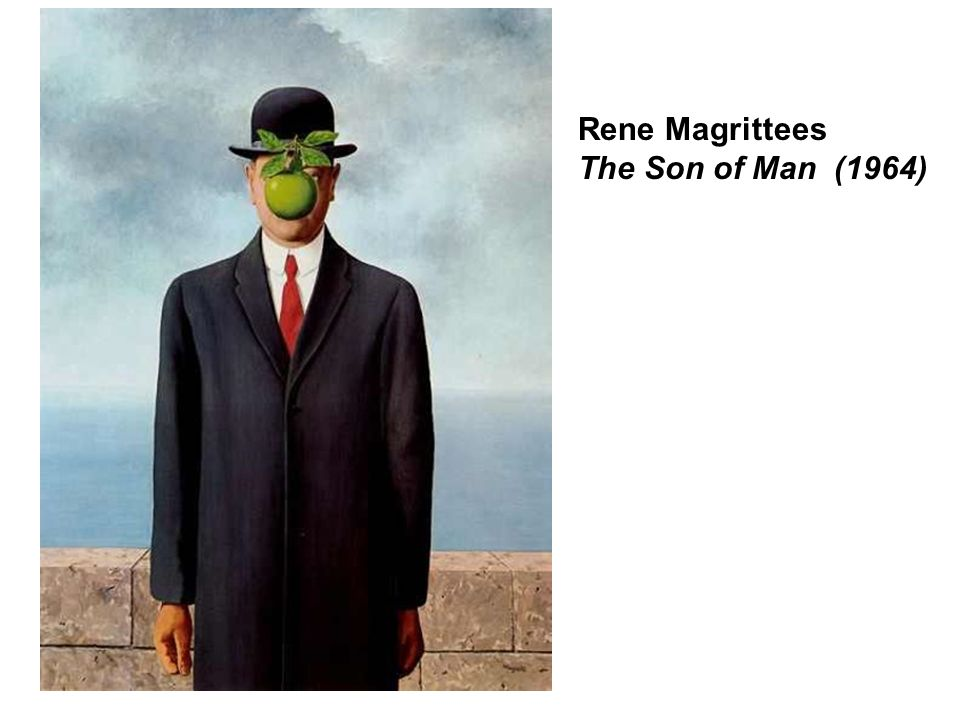 Rene Magrittees The Son of Man (1964)