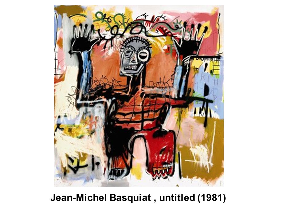 Jean-Michel Basquiat , untitled (1981)