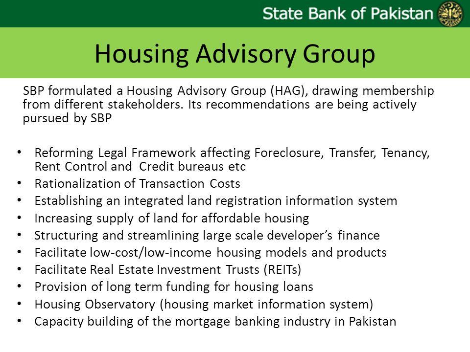 Housing Advisory Group