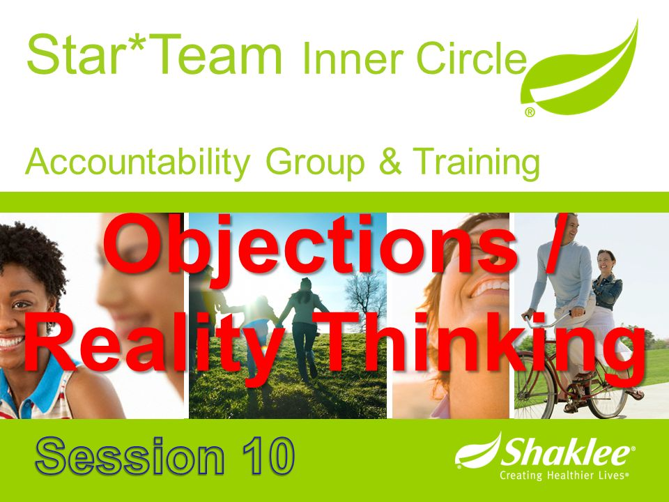 Objections / Reality Thinking