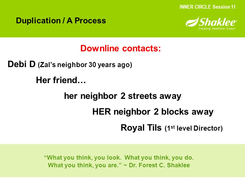 Debi D (Zal's neighbor 30 years ago) Her friend…