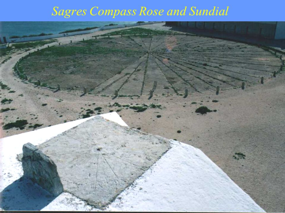 Sagres Compass Rose and Sundial