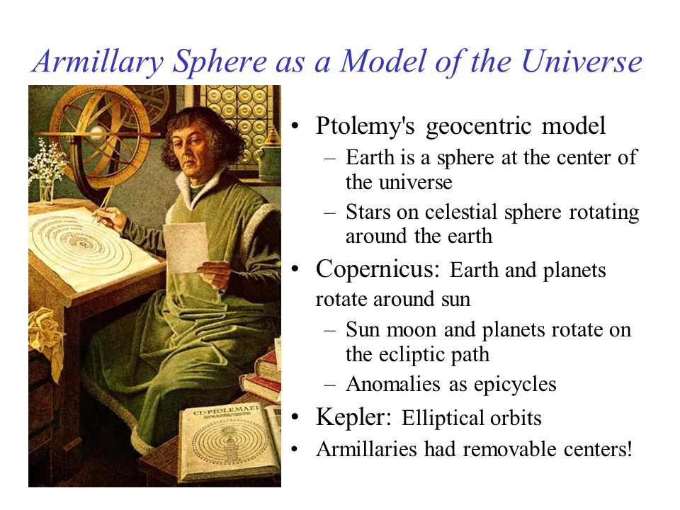 Armillary Sphere as a Model of the Universe