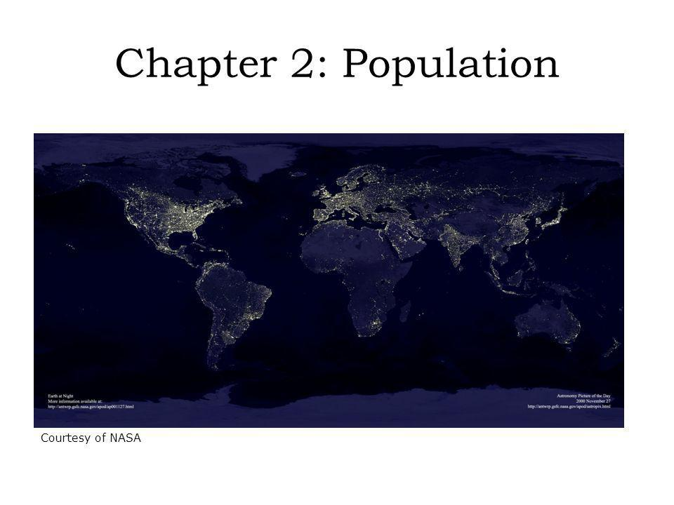 Chapter 2: Population http://apod.nasa.gov/apod/ap001127.html