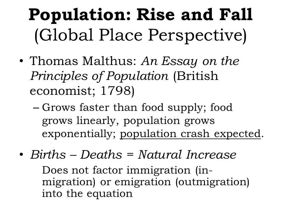 Population: Rise and Fall (Global Place Perspective)
