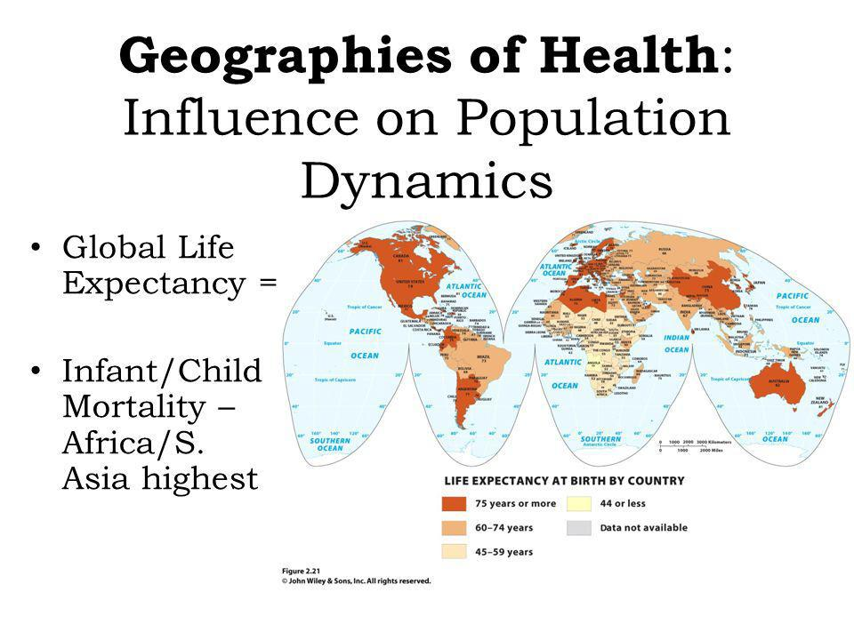 Geographies of Health: Influence on Population Dynamics