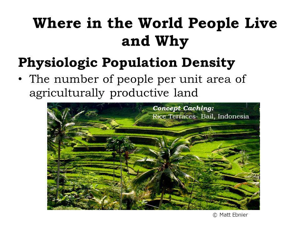 Physiologic Population Density