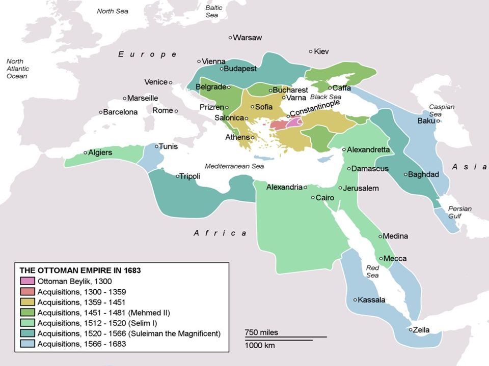 Constantinople as at the divide between east and west, Europe and Asia