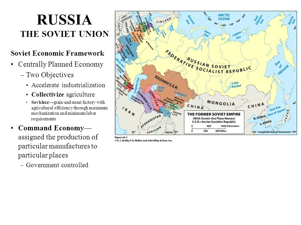 RUSSIA THE SOVIET UNION